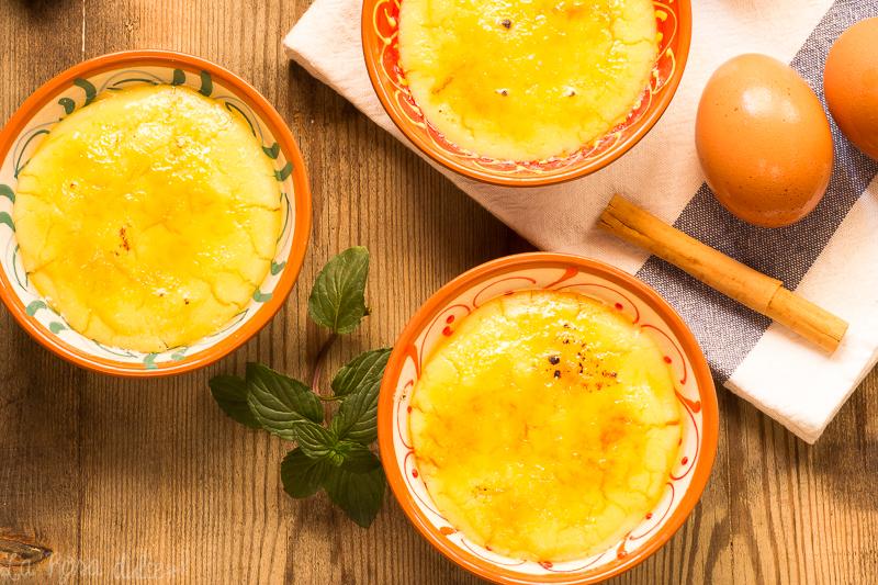 Crema catalana sin lactosa | la Rosa dulce