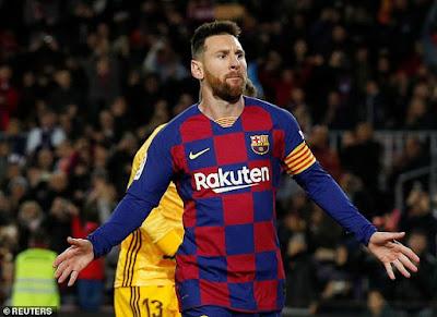 Cuộc đua giành Pichichi: Messi hướng đến 'ngôi vương'