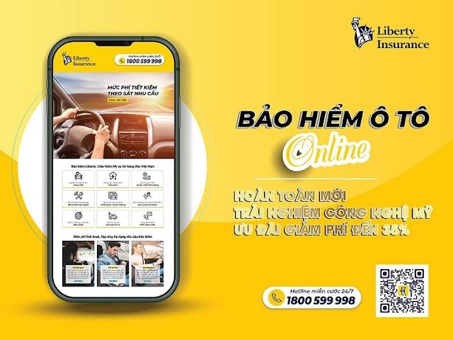 Liberty Insurance ra mắt bảo hiểm ô tô trực tuyến tại Việt Nam