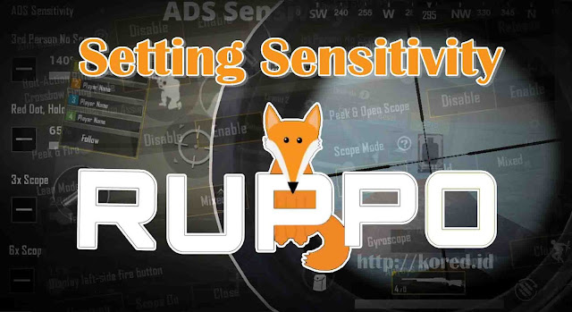 Setting Control Sensitivity Ruppo