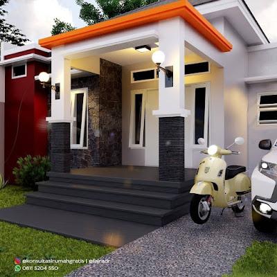 contoh inspirasi rumah minimalis