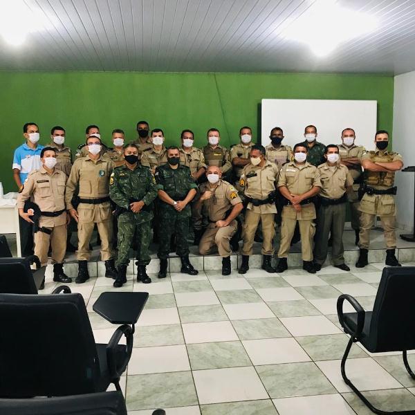 ARAGUATINS: Sargento Aluízio recebe homenagens da família e colegas de serviço ao completar 30 anos de serviços prestados na PMTO