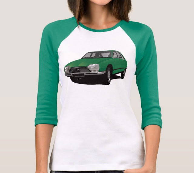 CItroën GS t-shirts for her