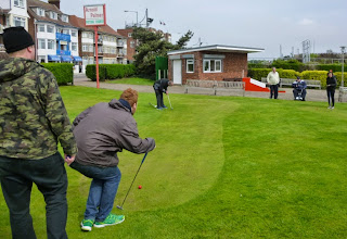 Mini Golf at the Arnold Palmer Putting Course in Skegness, Lincolnshire