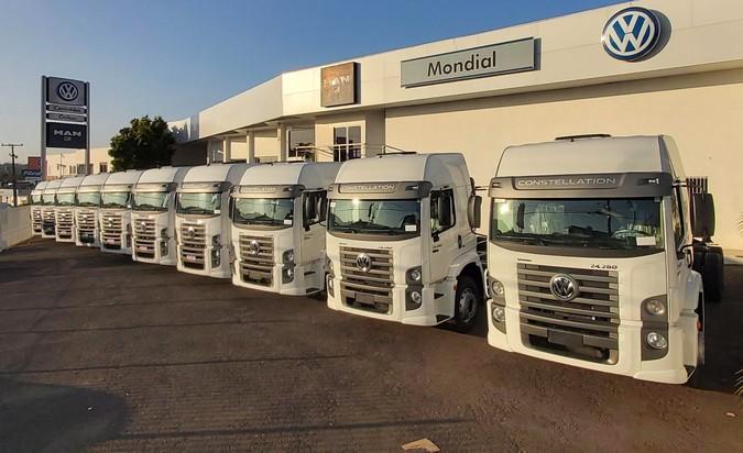 Tomasi Logística amplia frota com 61 caminhões Volkswagen