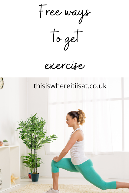 Free ways to get exercise