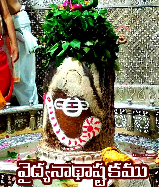 వైద్యనాథాష్టకము - Vaidyanad Ashtakam