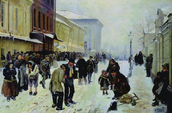 Маковский Владимир Егорович - Ночлежники (Ночлежный дом в Москве). 1889