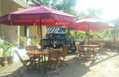 Meja Payung Dan Kursi Lipat Garden