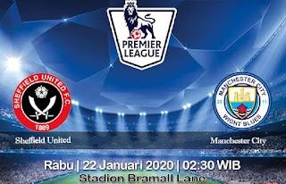 Prediksi Sheffield United Vs Manchester City 22 Januari 2020