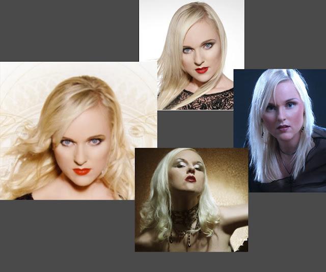 Maquiagem da Liv Kristine, vocalista do Leaves Eyes