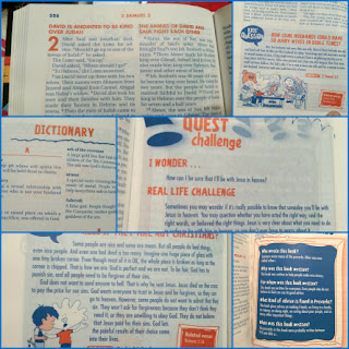 kids quest bibel collage