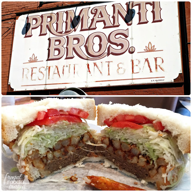 No visit to the Strip District is complete without a stop at the original Primanti Bros. restaurant.