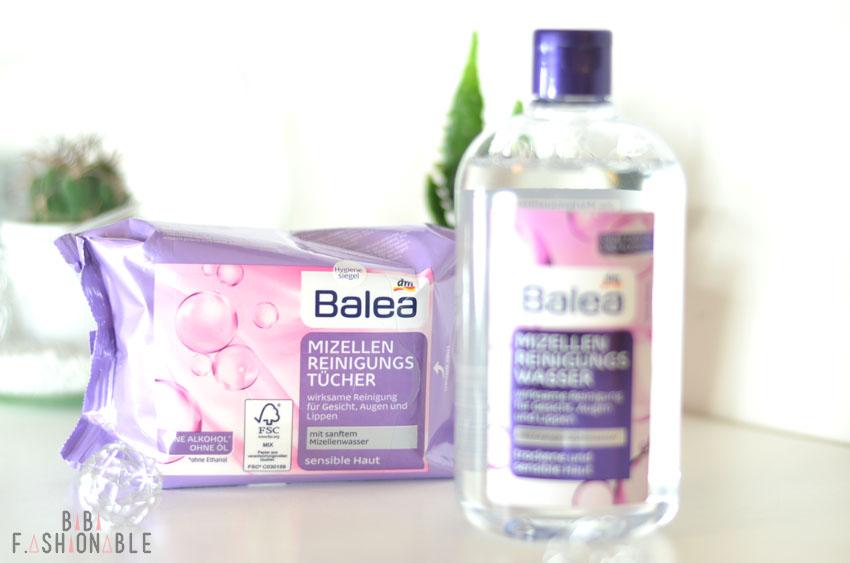 Balea Mizellen Reinigungstücher Produktbild