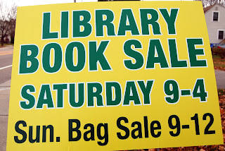 Franklin Public Library: Book Sale - Sat Nov 17; Bag Sale - Sun Nov 18