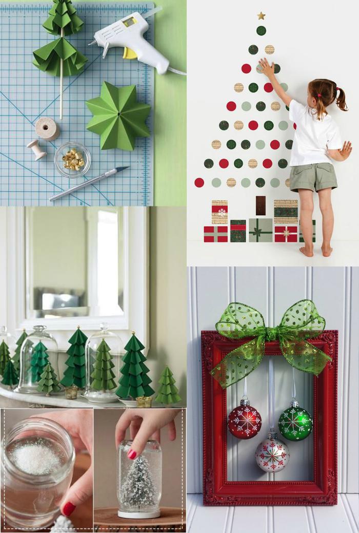 20 ideias baratas de decoração de Natal, decoração de natal