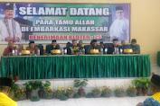 H.Marjani Sultan Wakili Bupati Serahkan Resmi JCH Kab.Kep.Selayar Ke PPIH Sulsel