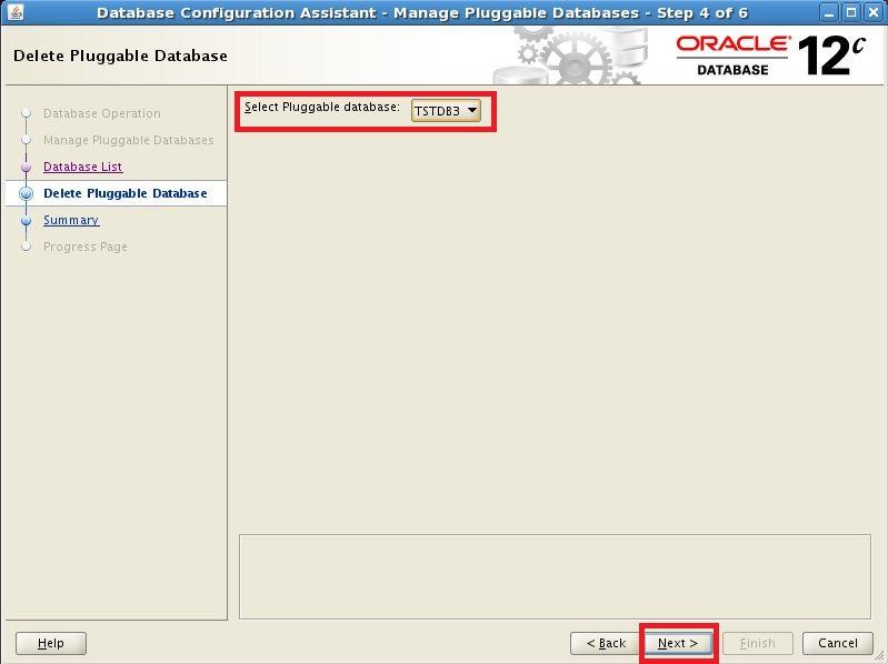 Oracle Database 12c: Drop Pluggable Database
