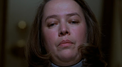 "Kathy Bates plays the frightening Annie Wilkes in the 1990 Rob Reiner horror film ""Misery"" where she won Best Actress for her performance"