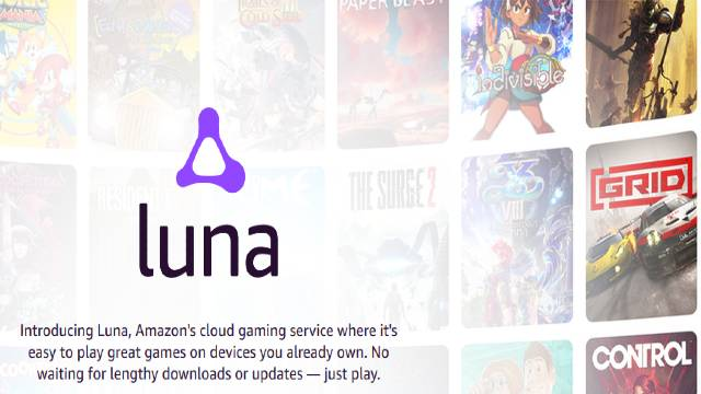 AMAZON LUNA GAME STREAMING