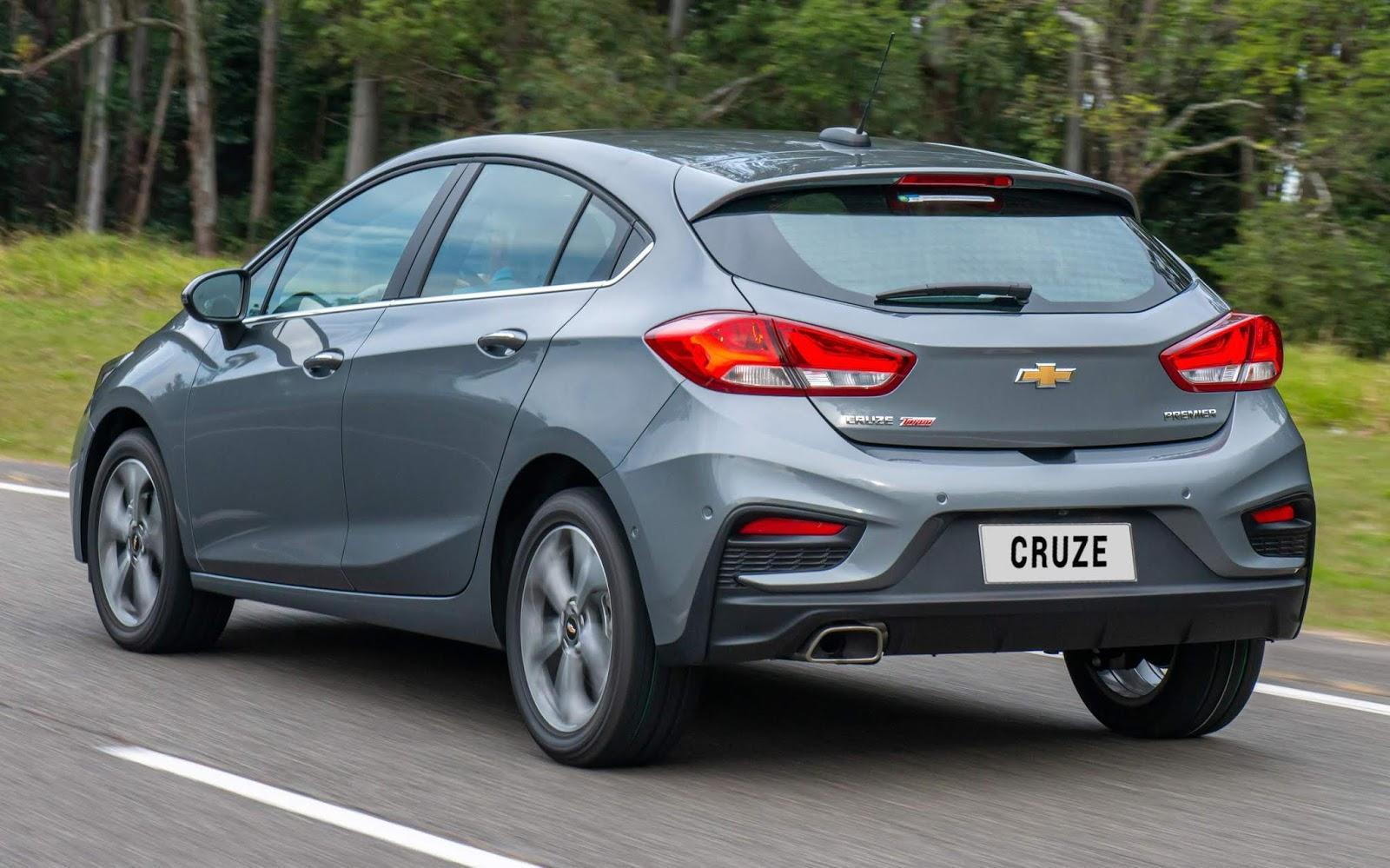 Novo Chevrolet Cruze Sport6 2020 Premier: fotos e detalhes ...