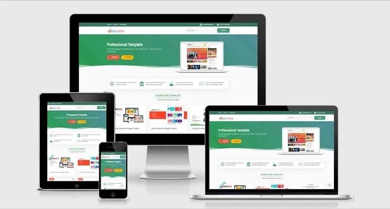 Goomsite AMP - Premium Responsive Blogger Template Free Download.