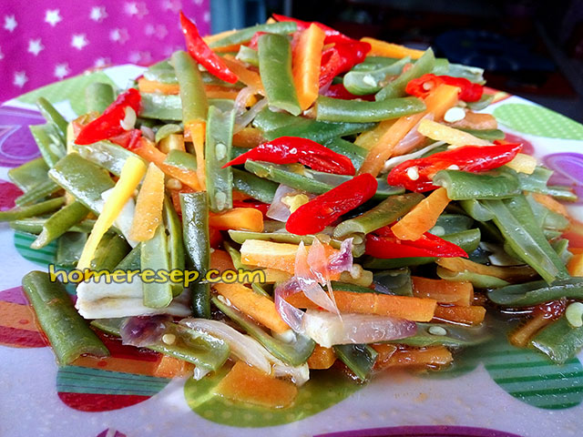 Resep Tumis Buncis Wortel Sederhana Praktis Resep Masakan Rumahan Homemade