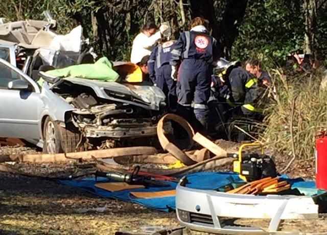 Iretama: Homem fica gravemente ferido em acidente na BR-487