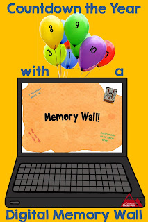 Digital Memory Wall helps students sum up the year.