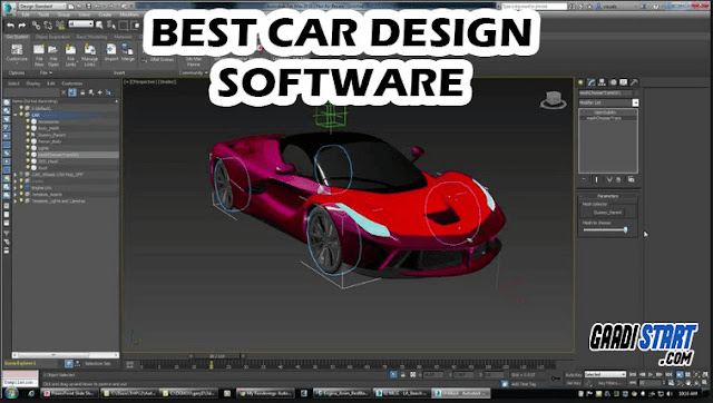 BEST SOFTWARE USED IN DESIGN OF CAR'S IN AUTOMOBILE INDUSTRY