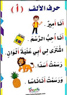 قصص الحروف لكل حرف قصة _ ممتاز في التأسيس _