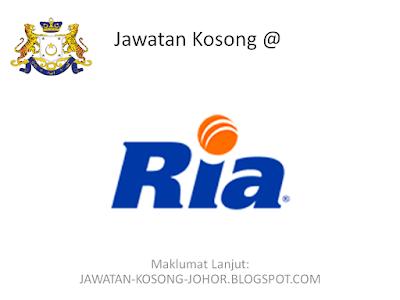 Jawatan Kosong Di Ria Money Transfer