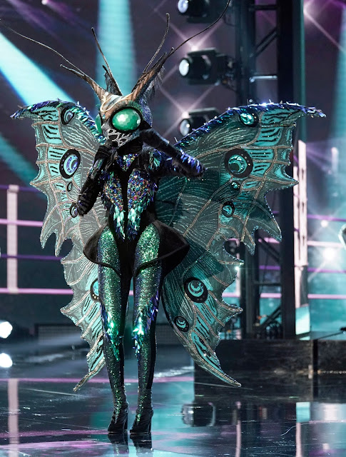 'THE MASKED SINGER': BUTTERFLY UNMASKED! - FIND OUT WHICH CELEBRITY WENT HOME