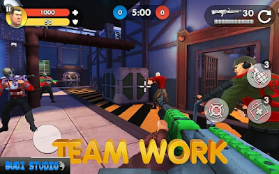 Guns of Boom yaitu penembak multiplayer hardcore dengan grafis  Download Guns of Boom - Online Shooter Mod Apk (Unlimited Ammo + No Reload)