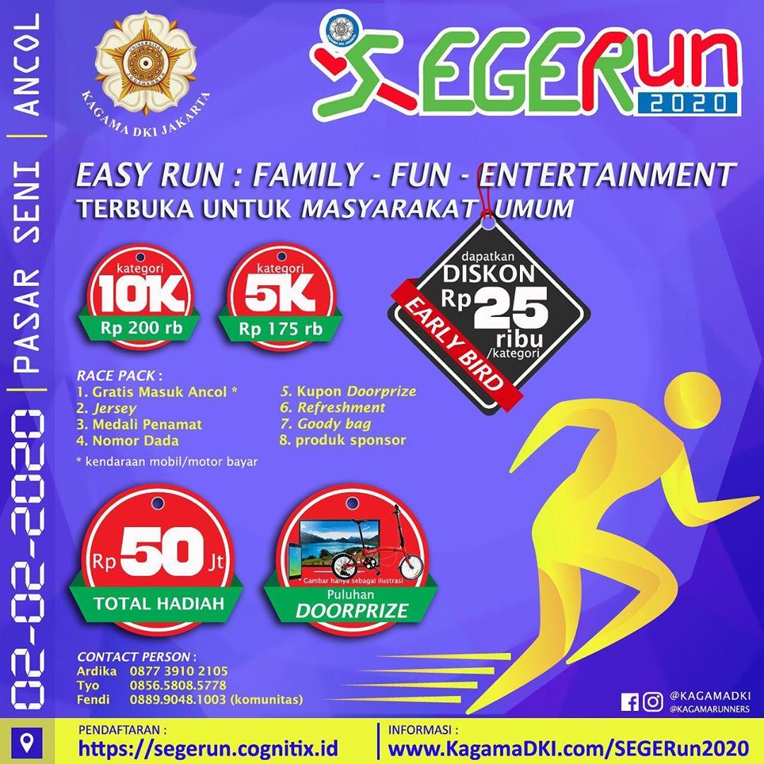 SEGERun Kagama DKI Jakarta • 2020