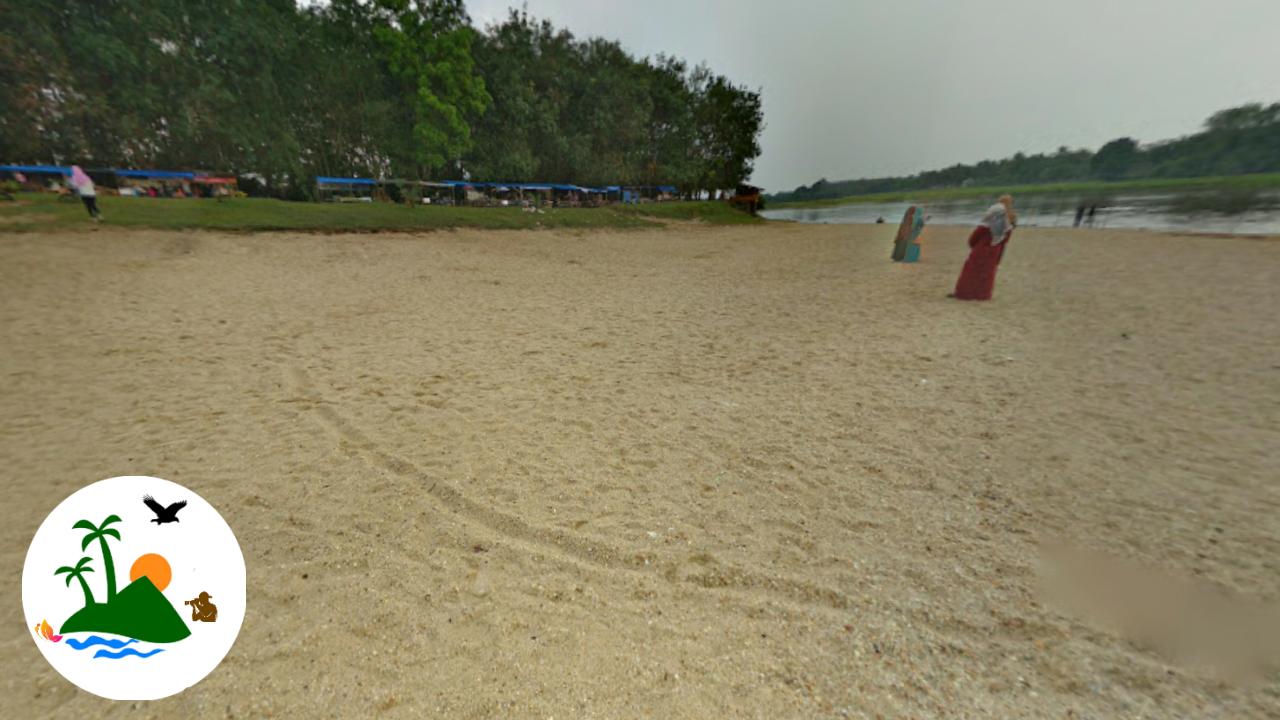 Teluk Jering Pantai Cinta Kampar Wisata Indahnya Pasir Putih