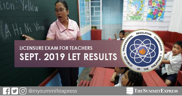 LET Result: xx pass September 2019 teachers board exam