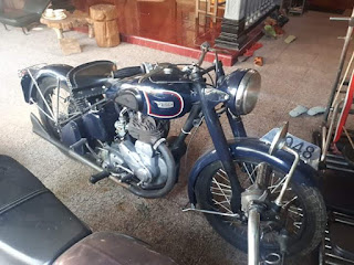 Bukalapak Motor Tua BSA M20 1948 500cc Bersurat