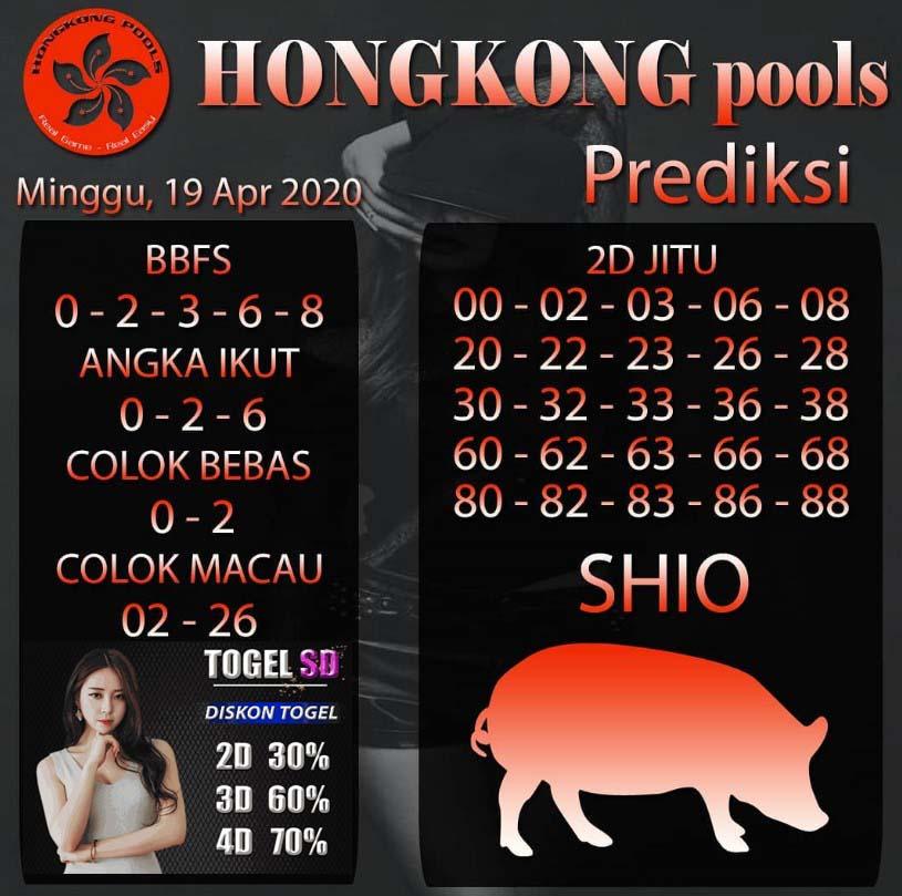 Prediksi HK 19 April 2020 - Prediksi HK Pools