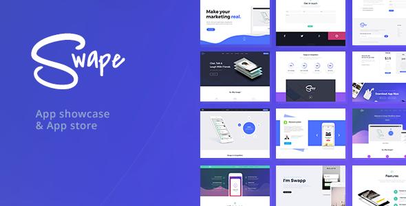 Download Swape v1.5.5 – App Showcase & App Store Theme