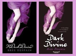 portadas de la novela juvenil de fantasía Dark divine, de Bree Despain