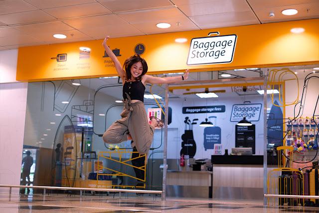 Nói lời tạm biệt với hành lý bị hỏng ở Changi Airport Singapore