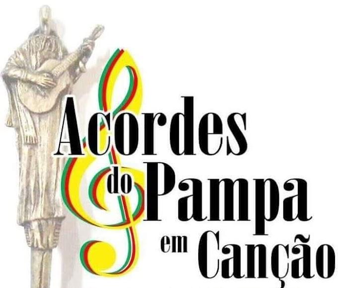 V Acordes do Pampa em Canção acontece de forma virtual no mês de dezembro