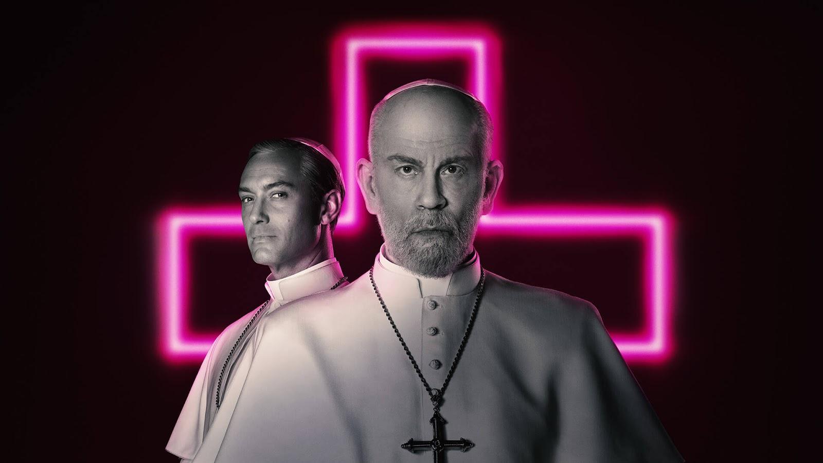 Com Jude Law e John Makovich 'The New Pope' chega ao Fox Premium 1