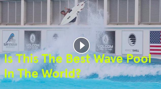 New Japan Wavepool Massive Ramps Evan Geiselman w PerfectSwell