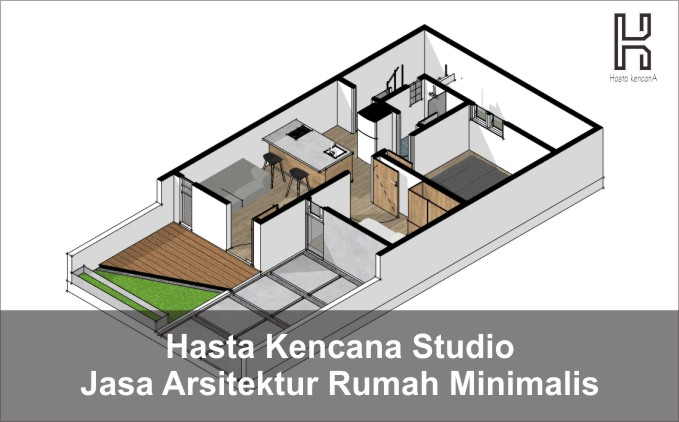 hasta kencana studio, jasa arsitek bandung, rumah minimalis bandung