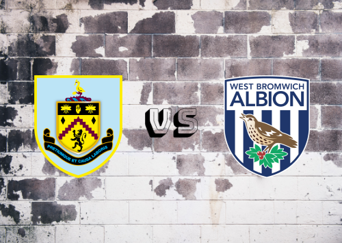Burnley vs West Bromwich Albion  Resumen
