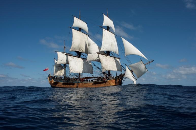HMB Endeavour Voyages as part of Encounters 2020