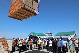 Ekspor Perdana Plywood Pelabuhan Sibolga Hasilkan Devisa Rp 43,22 Miliar
