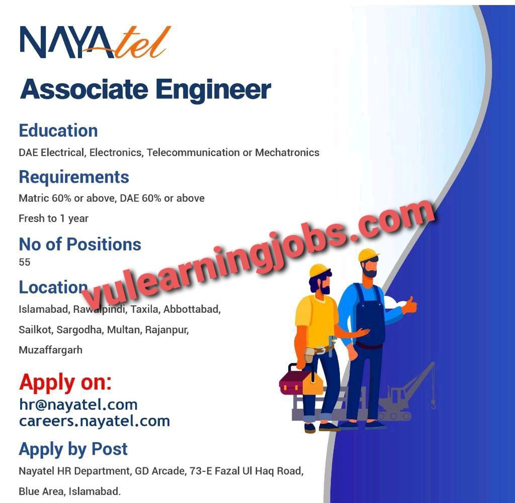Nayatel Company March Jobs In Pakistan 2021 Latest | Apply Now